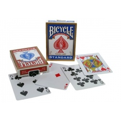 Bicycle poker, rider back