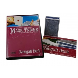 DVD Magic Tricks met Svengali deck