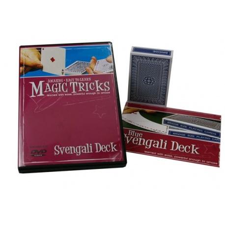 DVD Magic Tricks met Svengali deck