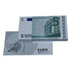 5 Euro biljetten speelgeld (100 biljetten)