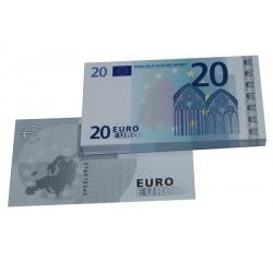 20 Euro biljetten speelgeld (100 biljetten)
