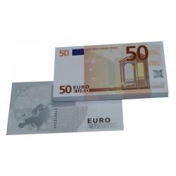 50 Euro biljetten speelgeld (100 biljetten)