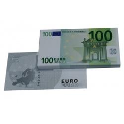 100 Euro biljetten speelgeld (100 biljetten)