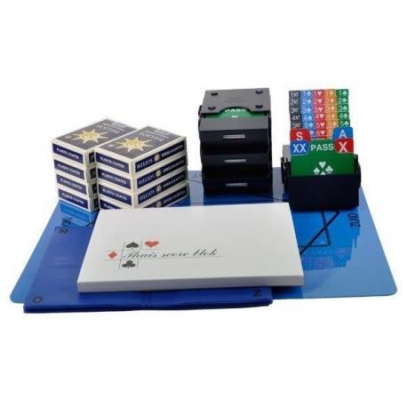 Startpakket Bridge met mapjes - Blauw