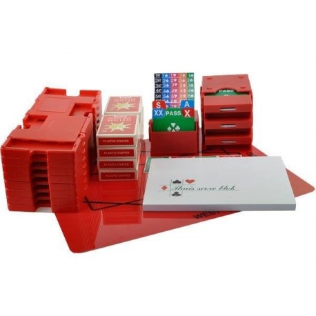 Startpakket Bridge met boards - rood