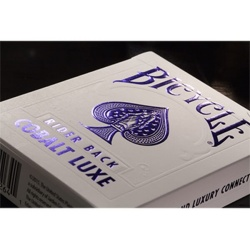 Bicycle MetalLuxe Cobalt Luxe speelkaarten