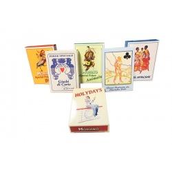 Modiano Pokerspeelkaarten 6 pack
