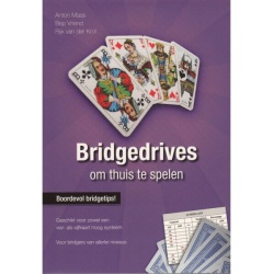 Bridgedrives om thuis te spelen (paars)