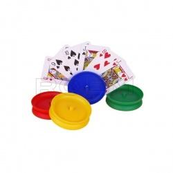 Ronde speelkaartenhouder