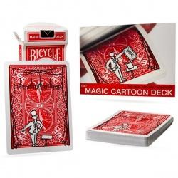 Bicycle Magic Cartoon deck