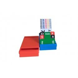 Set van 4 kleine biedboxen