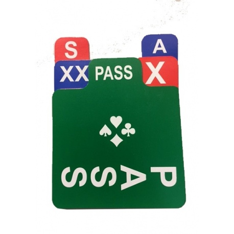 Eén kartonnen passetje