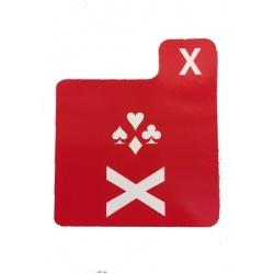 Kartonnen Doublet kaartje