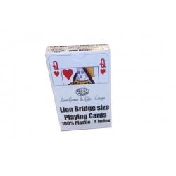 """100% plastic speelkaarten """"Lion"""""""