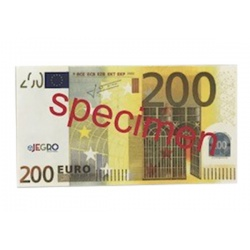Speelgeld € 200