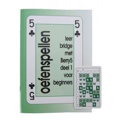 Oefenspellen Leer Bridge met Berry5 + gecodeerde speelkaarten
