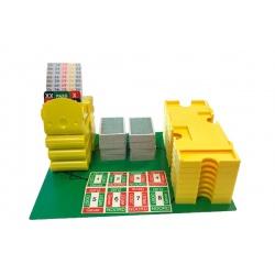 Startpakket bridge met boards geel/groen