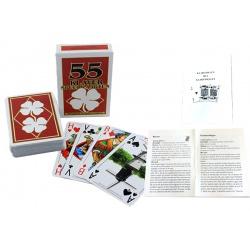Kaart-spelen met kaart-spellen