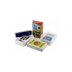 25 pakjes bedrukte speelkaarten