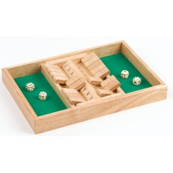 Shut the box dobbelspel dubbel