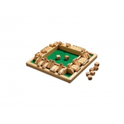 Shut the box dobbelspel 4 personen