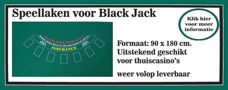 Black Jack, speellaken
